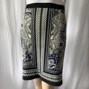 Rafaella Handkerchief  Scarf Print Skirt